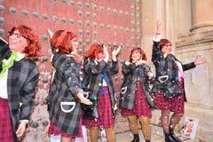 Coro típico do carnaval (chirigota) em Cadiz Imagens de Stock Royalty Free