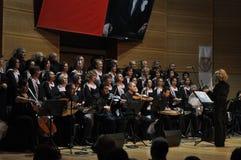 Coro turco moderno da música clássica Fotografia de Stock