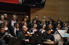 Coro turco moderno da música clássica Fotografia de Stock Royalty Free