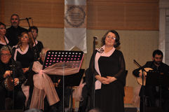 Coro turco moderno da música clássica Fotos de Stock