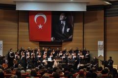 Coro turco moderno de la música clásica Fotografía de archivo libre de regalías