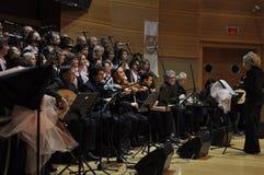Coro turco moderno de la música clásica Imagen de archivo