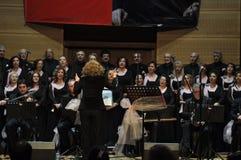 Coro turco moderno de la música clásica Imagen de archivo libre de regalías