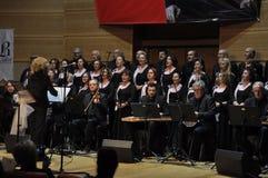 Coro turco moderno de la música clásica Fotografía de archivo