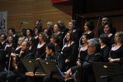 Coro turco moderno de la música clásica Fotos de archivo libres de regalías