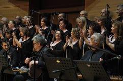 Coro turco moderno di musica classica Immagini Stock Libere da Diritti