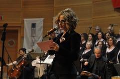 Coro turco moderno di musica classica Fotografie Stock Libere da Diritti