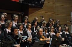 Coro turco moderno di musica classica Immagini Stock