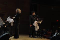 Coro turco moderno di musica classica Fotografia Stock