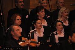 Coro turco moderno di musica classica Fotografia Stock Libera da Diritti