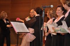 Coro turco moderno di musica classica Immagine Stock