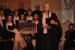 Coro turco moderno di musica classica Immagine Stock Libera da Diritti