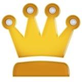 Coroa Fotografia de Stock
