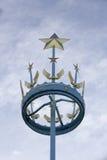Coroa astral memorável das forças aéreas fotografia de stock royalty free