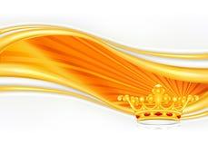 Coroa, cartão Imagens de Stock