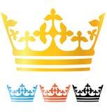 Coroa a coleção Fotografia de Stock Royalty Free