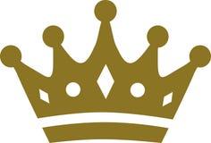 Coroa com detalhes ilustração stock