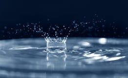 Coroa da gota da água Foto de Stock