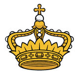 Coroa da rainha Fotografia de Stock Royalty Free