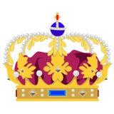 Coroa da rainha Fotografia de Stock