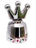 Coroa de aço para o champanhe imagem de stock royalty free