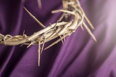 A coroa de espinhos que Jesus Wore imagens de stock royalty free