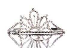Coroa de prata Fotografia de Stock Royalty Free