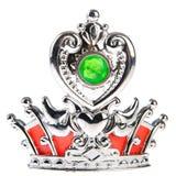 Coroa de prata Fotos de Stock