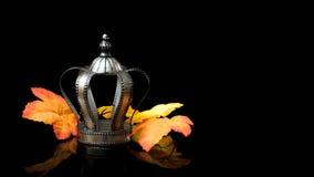 Coroa de prata Fotos de Stock Royalty Free