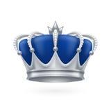 Coroa de prata Imagem de Stock Royalty Free