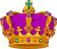 Coroa do carnaval ilustração stock