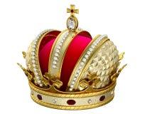 Coroa do ouro Foto de Stock