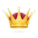 Coroa do ouro Imagem de Stock
