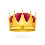 Coroa do ouro Imagens de Stock Royalty Free