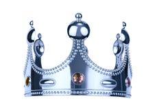 Coroa do rei de Silwer fotos de stock