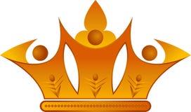 Coroa dos pares Imagem de Stock