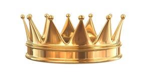 Coroa dourada ilustração do vetor