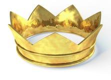 Coroa dourada Imagens de Stock
