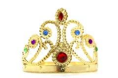 Coroa dourada Fotos de Stock Royalty Free