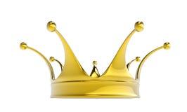 Coroa dourada Fotografia de Stock Royalty Free