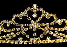 Coroa dourada Fotografia de Stock