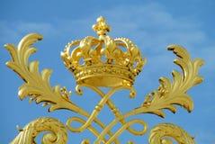 Coroa dourada do ornamento Imagem de Stock Royalty Free
