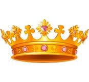Coroa real Fotografia de Stock
