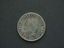 1 coroa sueca & x28; SEK& x29; moeda Foto de Stock