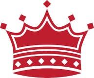 Coroa vermelha Imagens de Stock