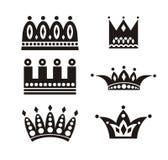 Coroas Fotos de Stock Royalty Free