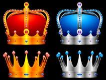 Coroas. Imagens de Stock Royalty Free