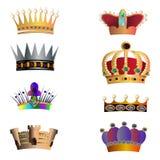Coroas. ilustração royalty free