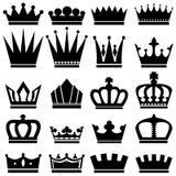 Coroas ilustração do vetor