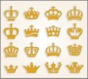 coroas Fotografia de Stock